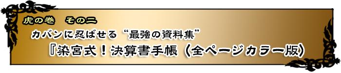 カバンに忍ばせる最強の資料集「染宮式!決算手帖(全ページカラー版)」